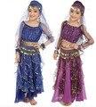 Индийский танец живота костюм танец живота костюм для девочек танец живота костюм набор арабский танец живота