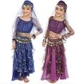 Indian danza del vientre traje de la danza del vientre traje para las niñas traje de la danza del vientre conjunto de danza del vientre árabe