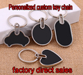 free shipping wedding gift custom laser engraved logo key chain Personalized customized keychain key ring key holder