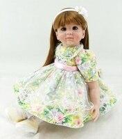 Latest new 60cm Silicone Reborn Baby Dolls Boneca Reborn Realista Fashion Dolls For Princess Children Birthday Gift Bebes Rebor