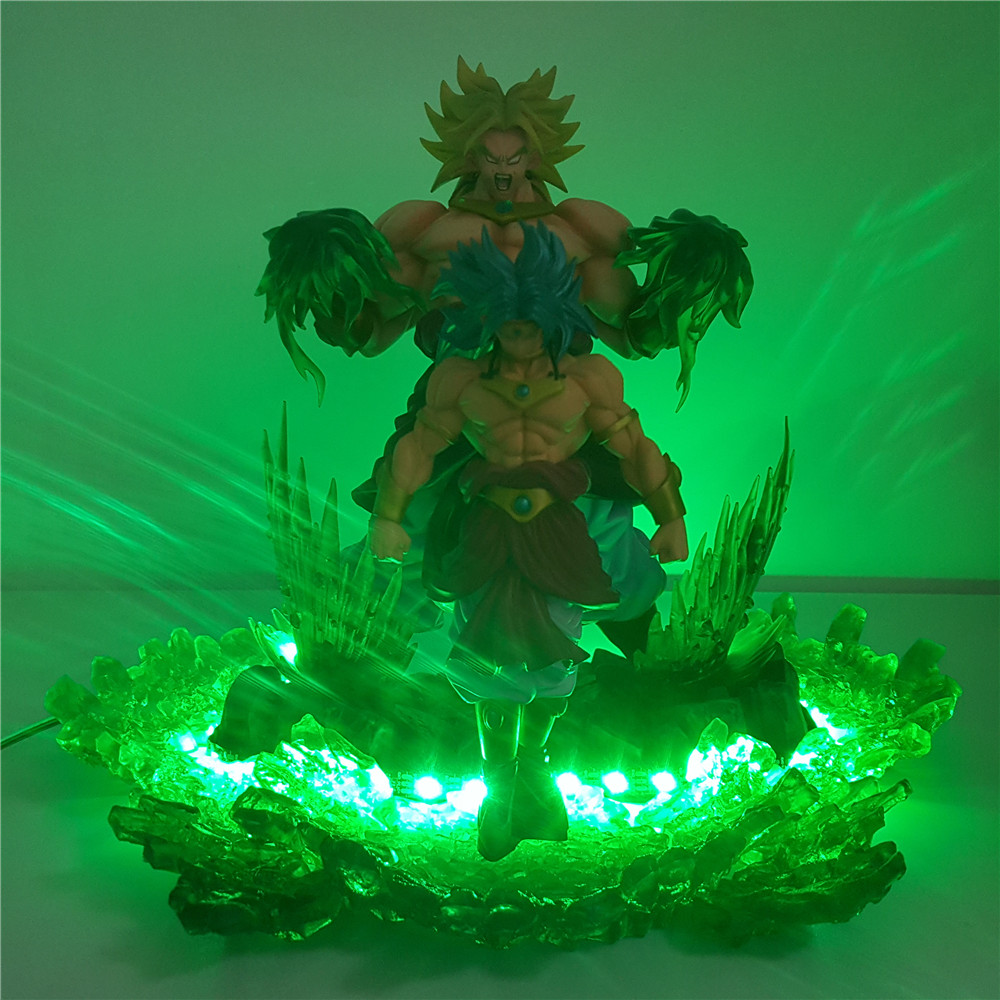 Led Night Lights Trustful Dragon Ball Z Broli Saiyan Evolution Led Night Light Figures Anime Dragon Ball Super Broli Movie Goku Model Toy Figurine Dbz