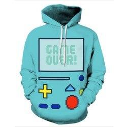 Wholesale 2016 fashion harajuku sweatshirt 3d mens hoodies game boy drawstring male basic shirt slim front.jpg 250x250