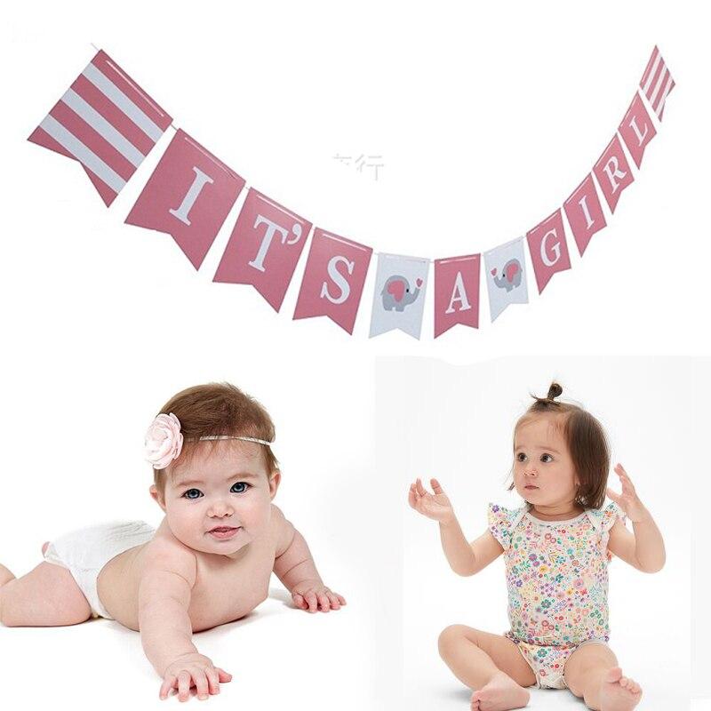 1 set Ipopu olifant Baby Shower Jongen Meisje Het een Jongen Het een Meisje Geslacht Onthullen Kids Verjaardag baby Shower feestartikelen 3
