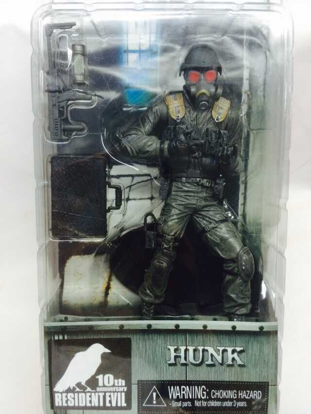"""RESIDENT EVIL// HUNK 10TH ANNIVERSARY 18 CM ACTION FIGURE 7/"""""""