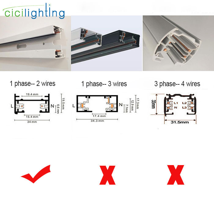 Loft minimalist e27 track light universal connector direction track cheapraybanclubmaster Image collections