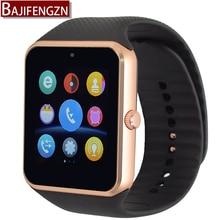 2017 Bluetooth smart watch GTZ08 Smartwatch clock synchronization notification support SIM for Samsung millet Android phone
