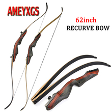 1set 62 Archery 20-50lbs Recurve Bow Takedown Hunting Bow Right Hand Traditional Bow For Bow Arrows Hunting Shooting Accessorie