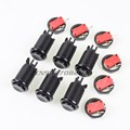 6x 30mm Longer Happ Style Push buttons with Micro Switch for Arcade joystick diy kits PC games