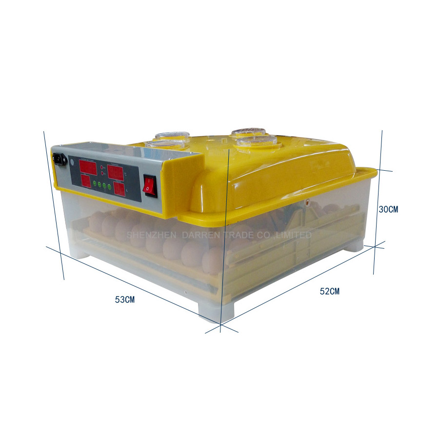 1Pc WQ 36 mini incubator 144eggs quail incubator 36chicken incubator machine 110 220V