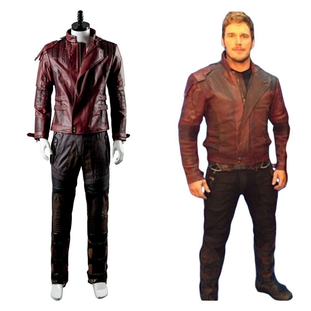Guardians of the Galaxy 2 Peter Jason Quill Starlord Jacket Only Cosplay Costume Halloween Carnival full sets