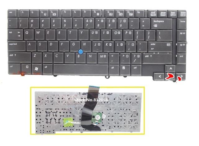 Nuevo Teclado del ordenador portátil EE.UU. negro para HP EliteBook 6930, 6930 P
