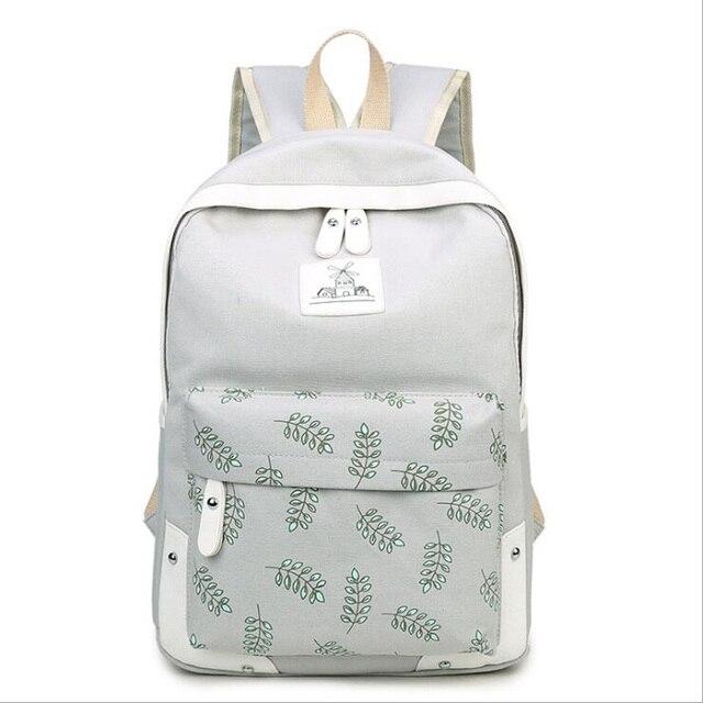 Novas Mulheres sacos de Escola Estudante mochila de Lona mochila de viagem Mochila Casual Mochila de Viagem Mochila Mochilas Bonito XD3740