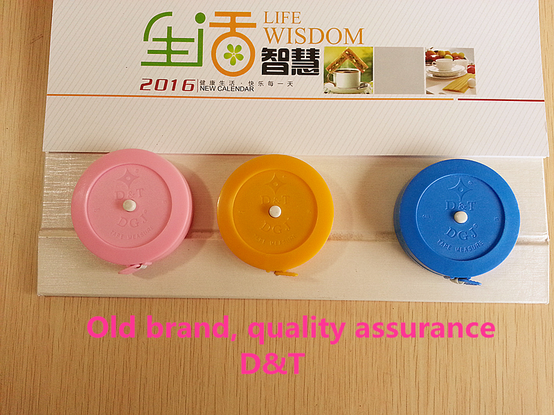 Personal Computer Random Color! D And T Brands! Telescopic Ruler Tape 60 Inch Cloth Tailor Diet 1.5m