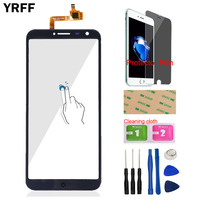 5 5 Mobile Phone Touch Panel Front For Oukitel C8 Touch Screen Digitizer Panel Glass Lens