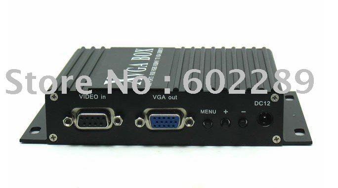 8219 MDA/CGA/EGA/RGB/RGBSog/RGBS/RGBHV/YPbPr/YUV to VGA zap zap xvag mda rgb cga ypbpr 9pin to vga industrial monitor converter