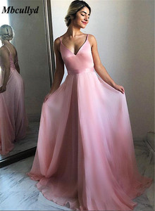 Image 2 - Zarif V Yaka Uzun Gelinlik modelleri 2019 Seksi Backless Balo Elbise Parti Kadınlar Için Ucuz Custom Made Vestidos de fiesta