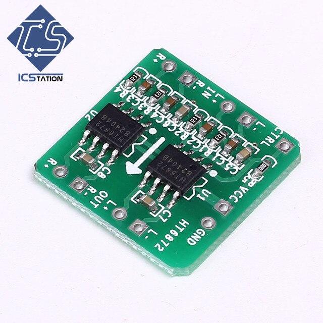 2x3W Differential Amplifier Board Module Digital Class D Audio Amp 3.6-6.5V Digital Amplifier