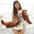 50 cm / 70 cm Super lindo perro Husky felpa del Animal relleno muñecas muñecas almohada perro perro para los niños de cumpleaños YZT0117