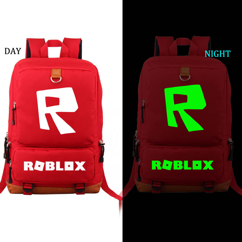 Roblox Backpack Noctilucous student school bag Notebook backpack Leisure Daily backpack цены