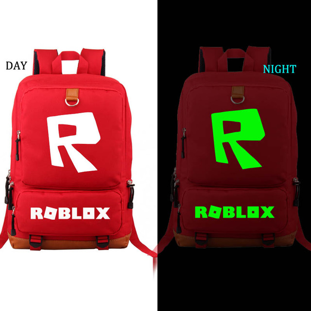 Us 300 Roblox Backpack Noctilucous Student School Bag Notebook Backpack Leisure Daily Backpack In School Bags From Luggage Bags On - daily roblox com