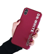 PC Hard Phone Case For Xiaomi Redmi Note 7 5 Mi 9 8 Lite Anti-Fingerprint Cover Accessories
