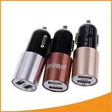 Pbear Alta calidad Micro Auto Doble Cargador de batería de Coche multi-fuction con el martillo de seguridad plug-in de cargador para Smartphones