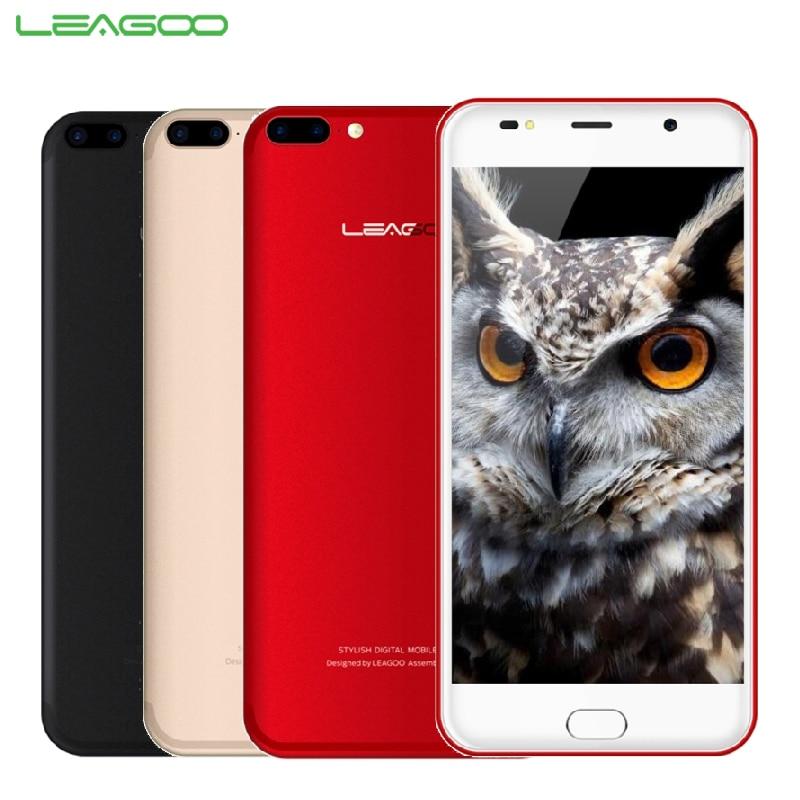 Original LEAGOO M7 Mobile Phone 5.5inch Screen 1GB RAM 16GB ROM MT6580A Quad Core Android 7.0 Dual Back Camera 3000mAh Smarphone