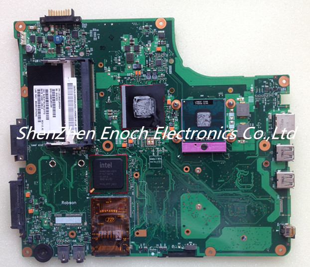 ФОТО For Toshiba satellite A200 A205 Laptop motherboard Integrated V000109150 6050A2109401-MB-A02  stock No.888