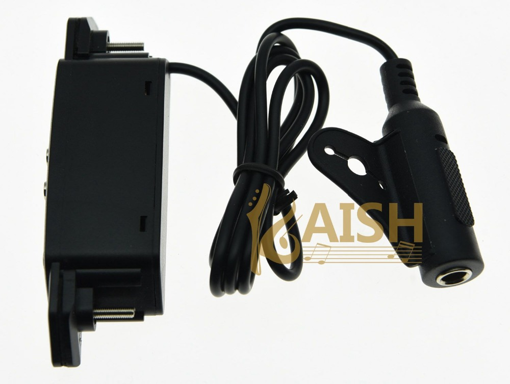 KAISH Belcat SH-80 Acoustic Guitar Pickups Humbucker Sound hole Pickup kaish black p90 high power sound neck