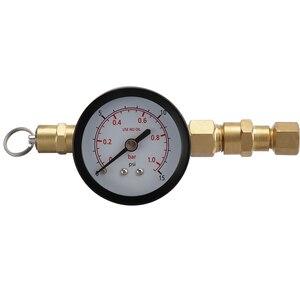 Image 5 - Клапан сброса давления co2 с зарядным устройством, с манометром, 0 15 psi, с резьбовым шаровым затвором для заправки пива, бочонка CO2