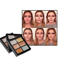 3 Colores Estilo Corrector Paleta de Maquillaje Profesional de Concealer Crema Facial Maquillaje Base de Maquillaje Contorno Paleta VD470 P50