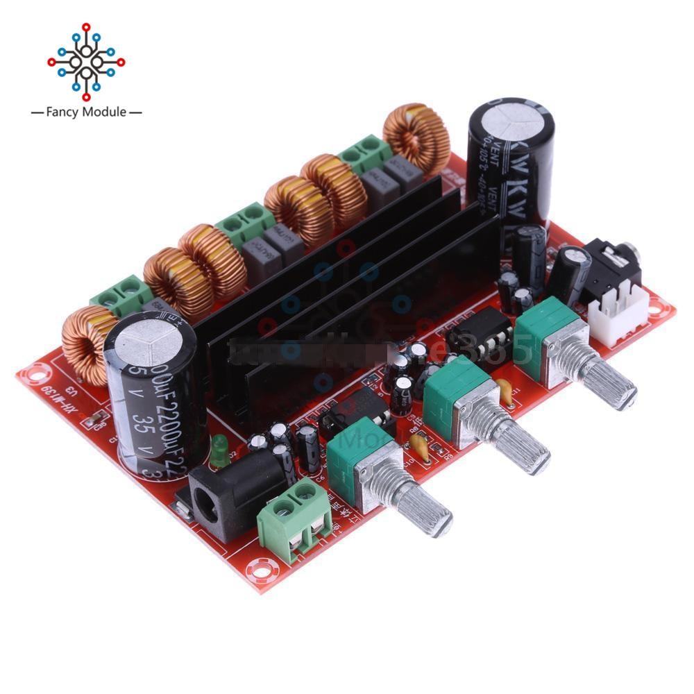 TPA3116D2 2 X 50W + 100W 2.1 Channel Digital Subwoofer Power Amplifier Board
