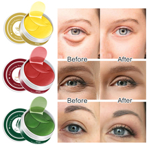 Collagen Crystal Eye Mask Gel Patches 60pcs Care Sleep Masks Remover Dark Circles Anti Age Bag Wrinkle Patch