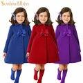 Moda Chaqueta de Invierno Para Niñas Otoño del Resorte de Los Niños Chaquetas y Abrigos de Niña ropa de Abrigo y Abrigos de Cachemira Abrigo prendas de Vestir Exteriores