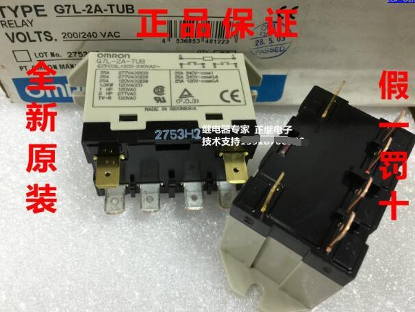 Relay G7L-2A-TUB 200-240VAC ~