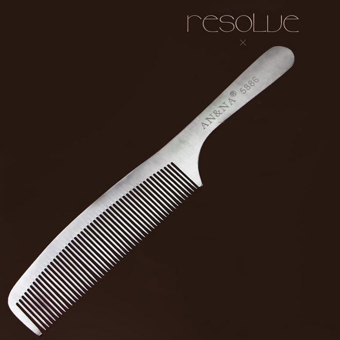 de Aço Barbeiro Pente Corte De Cabelo Em Material Durável
