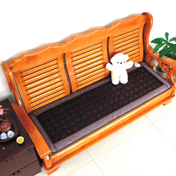 Jade Physical Therapy Cushion Germanium Seat Mat Tourmaline Health Sofa Mattress Heated Sofa Electric Heat Mats Made in China best selling korea natural jade heated cushion tourmaline health care germanium electric heating cushion physical therapy mat
