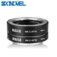 マイクス MK-C-AF3 DG オートフォーカス自動マクロ延長チューブ 10 ミリメートル 16 ミリメートル EOS M M1 M2 M3 m5 M6 M10 EF-M ミラーレスカメラ