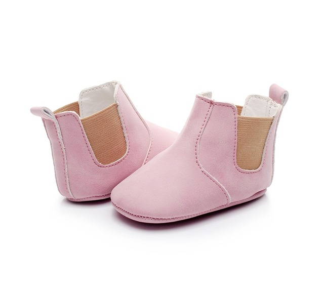 2019 hot sell fall fashion new style pu leather baby moccasins shoes sofe sole baby girls boys shoes first walkers baby boots 3