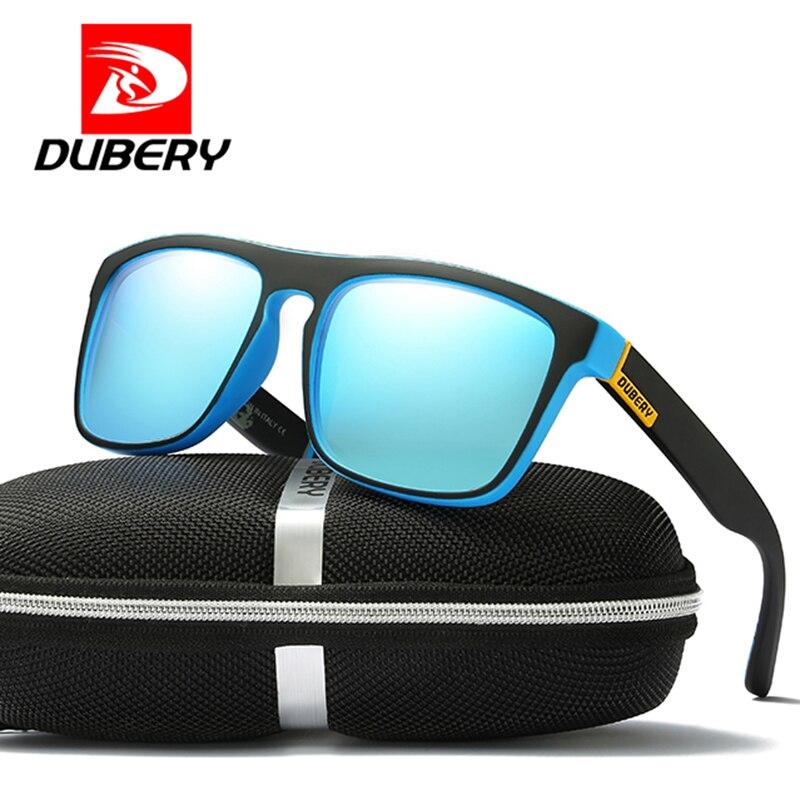 3a79e9b058d DUBERY 2019 Polarized Sunglasses Men s Aviation Driver Shades Male Sun  Glasses For Men Retro Driving Sunglasse