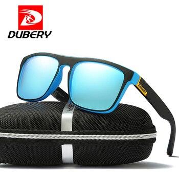 DUBERY 2019 Polarized Sunglasses Men's Aviation Driver Shades Male Sun Glasses For Men Retro Driving Sunglasse Designer Oculos
