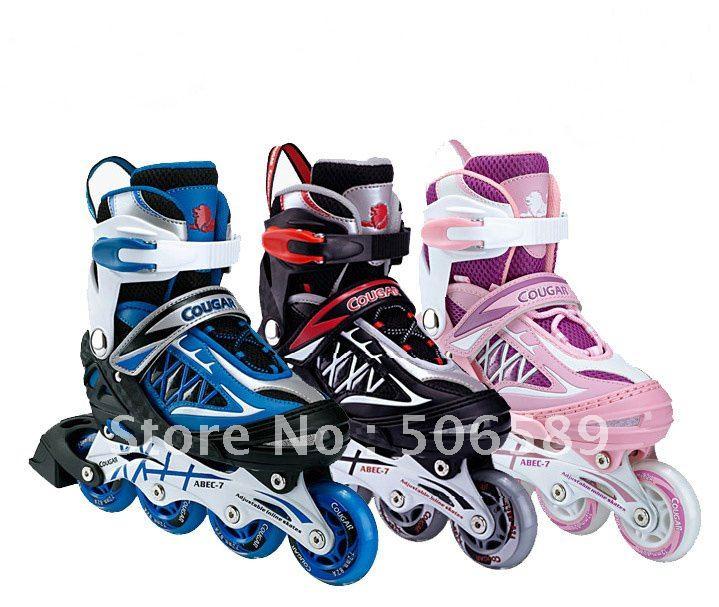 Chaussures améliorées seulement patins à roulettes pour enfants cadeau de roue coulissante pour enfants chaussures de sport seulement chaussures il y a un costume de protection