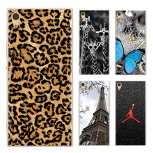 Drop Shipping TPU Soft Phone Case for Sony Xperia XA1 G3112 G3116 G3121 G3123 G3125 5-inch Fashion Pattern Colorful Painted