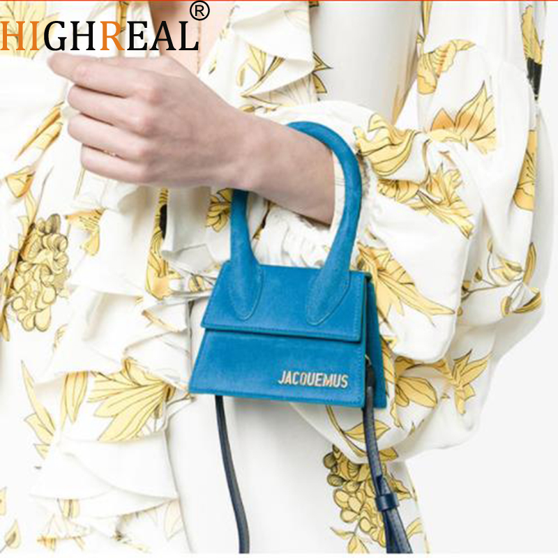 Small Totes Big Handle Designer Shoulder Handbag Square Women Crossbody Bags Female Removable Shoulder Strap Clutch Bag Dropship(China)