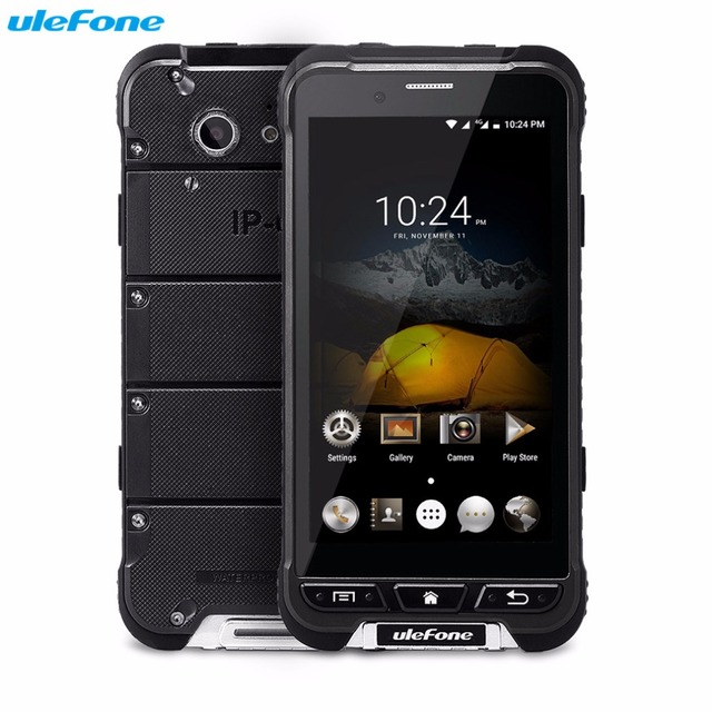 Original Ulefone ARMOR Mobile Phone 4.7'' HD MTK6753 Octa Core Android 6.0 3GB + 32GB 13MP OTA 4G Waterproof 3500mAh Smartphone