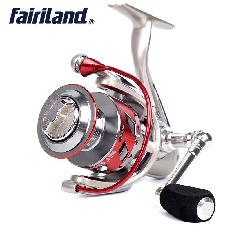 CNC Machined 12BB+1RB Full Metal Spinning Reel OP 2000-6000 5.1:1 Aluminum Spinning Reels  fishing tackle fishing reels