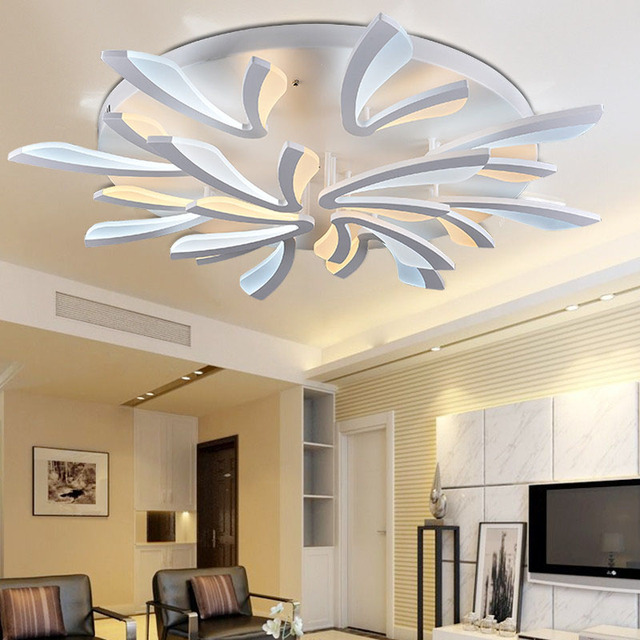 110v 220v Led Ceiling Light Plafonnier Led Moderne Aydinlatma ...