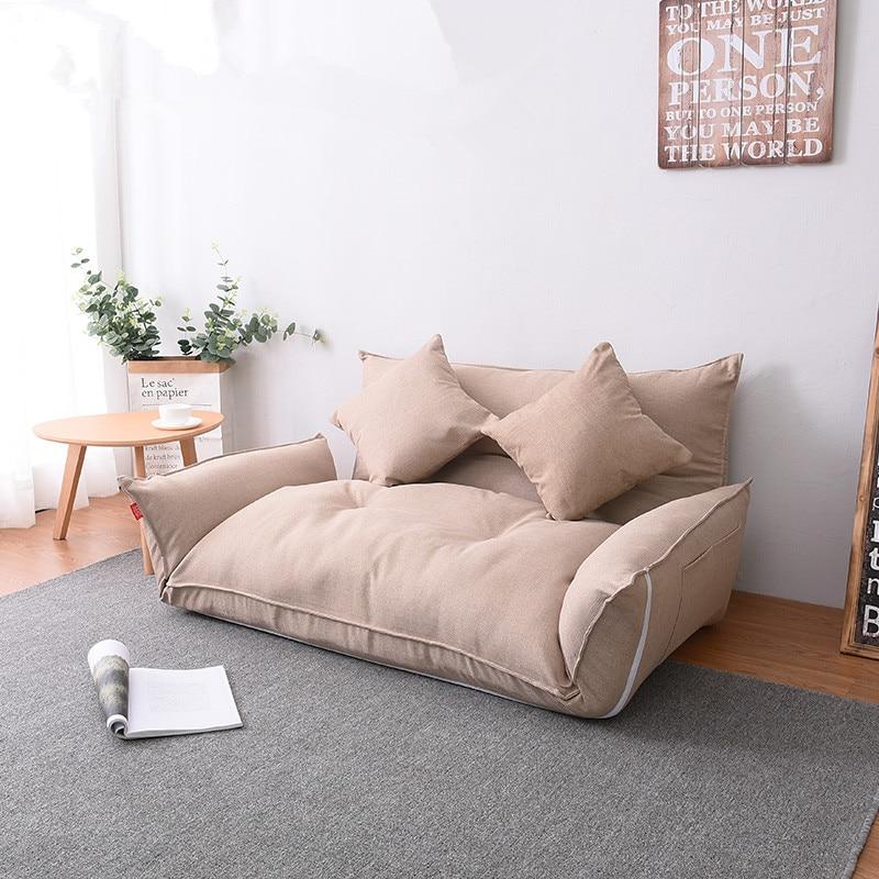 Floor Furniture Reclining Japanese Futon Sofa Bed Modern ...