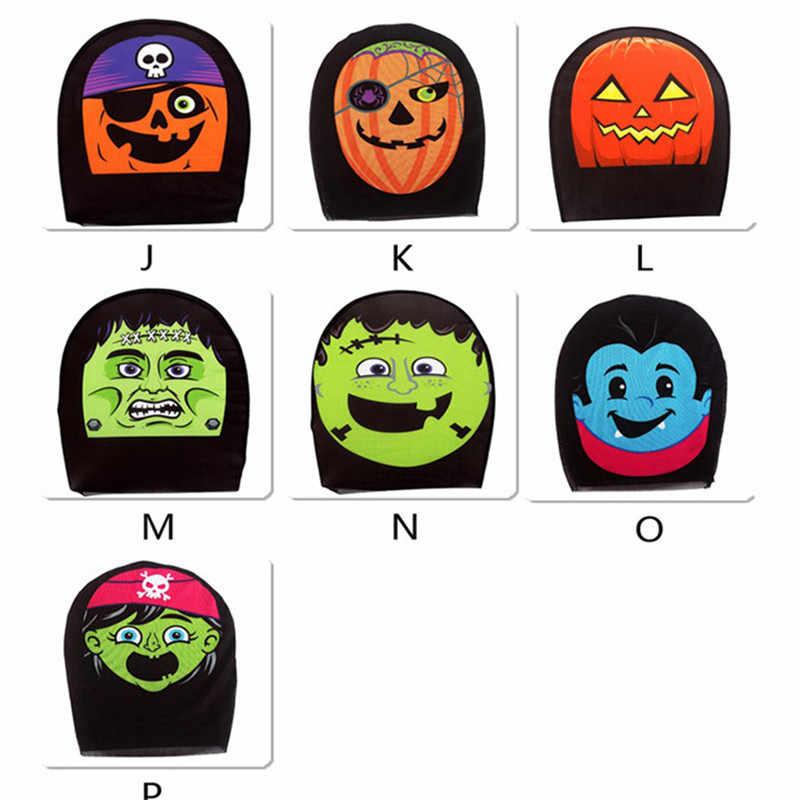 Tecido Facial Halloween Máscara de Caveira Para As Mulheres Sexy Máscara Do Partido Assustador Cosplay Masquerade Máscara Chapelaria Para Homens Decorações Do Partido