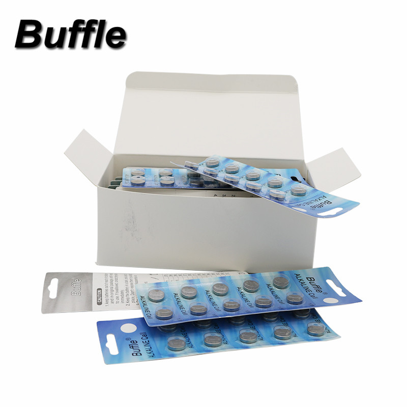 Buffle Dropshipping 100pcs <font><b>AG10</b></font> Cell Coin <font><b>Battery</b></font> LR1130 V10GA Watch Button 189 389 Support Drop Shipping image